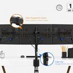 1home Support Ecran PC Moniteur et Ordinateur de 13-24'', à 3 Ecran de la marque 1home image 5 produit