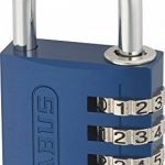 ABUS 145/40 Cadenas à combinaison 40 mm Bleu de la marque image 1 produit