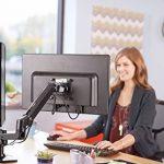 AmazonBasics Bras de support double pour moniteurs Positionnement côte à côte de la marque AmazonBasics image 1 produit