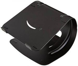 AmazonBasics Support d'ordinateur portable en aluminium Noir de la marque image 0 produit