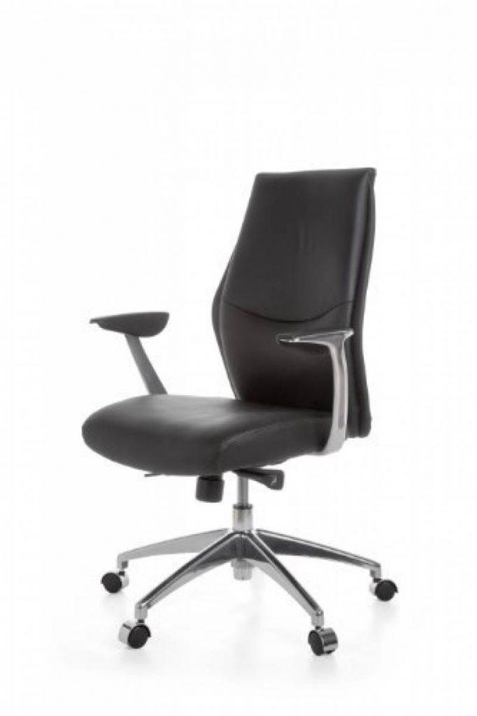 Chaise bureau cuir noir pour 2018 acheter les meilleurs for Chaise 150 kg