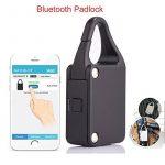 Android IOS ouvert anti Thief Bluetooth Smart Cadenas pour sac Moto Armoires bagages de la marque image 1 produit