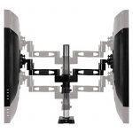 """ARCTIC Z2 - Black support articulé pour deux écrans jusqu'à 27"""" avec Hub USB intégré VESA 75 & 100 de la marque ARCTIC image 4 produit"""
