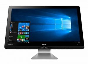"""Asus Zen AiO ZN270IEUK-RA045T Ordinateur Tout-en-un 27"""" Full HD Gris (Intel Core i7, 12 Go de RAM, Disque dur 1 To + SSD 256 Go, Intel HD Graphics, Windows 10) de la marque Asus image 0 produit"""