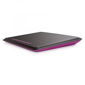 """Belkin - Support Plat """"Cushdesk"""" pour Ordinateur Portable jusqu'à 18,4"""" - Noir/Violet de la marque image 0 produit"""