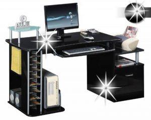 Bureau informatique noir - top 11 TOP 11 image 0 produit