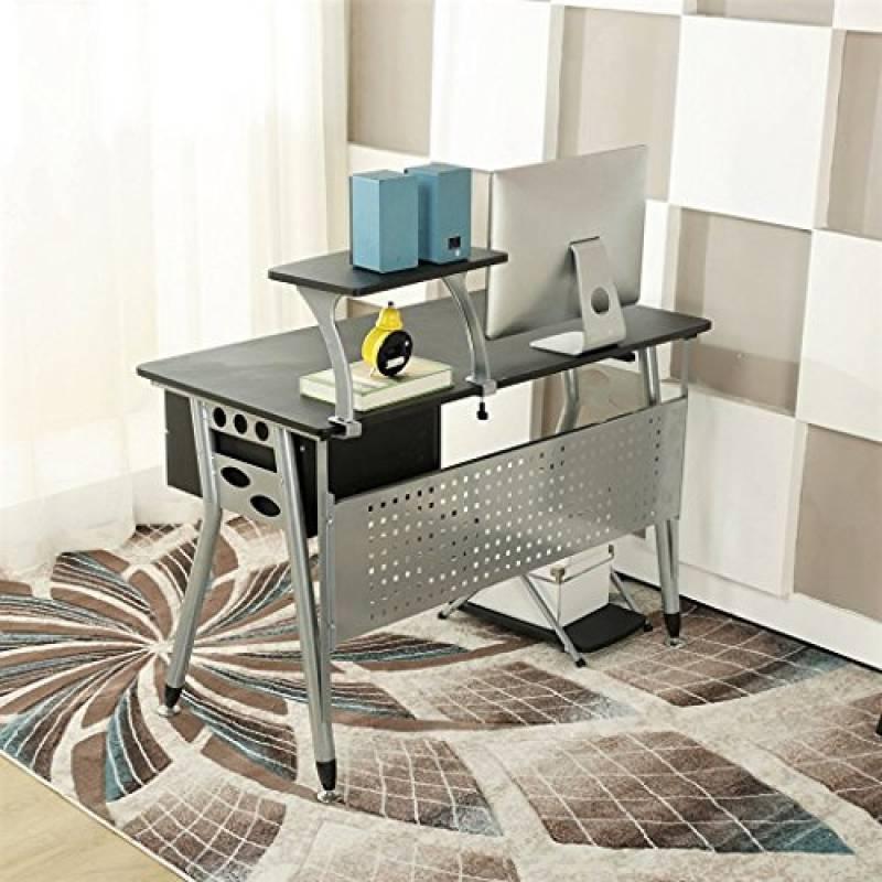 Bureau ordinateur imprimante amazing bureau pour pc portable et imprimante of meuble bureau for Super u meuble
