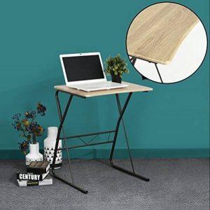 Bureau Ordinateur Table d'étude Ordinateur Robuste en bois avec des pieds en métal pour PC Ordinateur Portable Etudiants -Promo Fin D'Année- de la marque image 0 produit