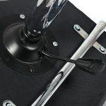 Chaise de bureau Sport avec Dossier Noir] Hollylilfe Chaise Ordinateur Exécutif 360 degrés réglable en Cuir Faux Hauteur réglable Flexible 45-60 cm pour le salon de coiffure, le bureau, le salon - Noir + Blanc de la marque image 4 produit