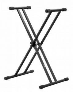 Classic Cantabile support pour synthétiseur, pieds doubles en croix (noir) de la marque image 0 produit