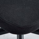 CLP Fauteuil de bureau GENIUS, siège de bureau, tissu à maille réspirant, siège pivotant et ajustable en hauteur, différentes couleurs disponible rouge de la marque image 6 produit