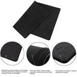 CoJoie Tapis de Souris Gamer 800*500*3 mm Antidérapant avec Bords Cousus, Noir de la marque Jelly Comb image 4 produit