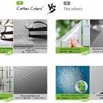 CottonColors Film Adhesif Decoratif pour Fenêtre 3D Statique Autocollant pour fenêtre Film pour Vitrage Film Occultant givré pour Accueil Cuisine Bureau Salle de bains 60CM x 200CM(2Ft X 6.5Ft) de la marque image 6 produit