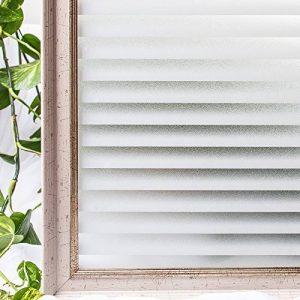CottonColors Film Adhesif Decoratif pour Fenêtre 3D Statique Autocollant pour fenêtre Film pour Vitrage Film Occultant givré pour Accueil Cuisine Bureau Salle de bains 60CM x 200CM(2Ft X 6.5Ft) de la marque image 0 produit