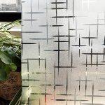 CottonColors Film Adhesif Decoratif pour Fenêtre 3D Statique Autocollant pour fenêtre Film pour Vitrage Film Occultant givré pour Accueil Cuisine Bureau Salle de bains 60CM x 200CM(2Ft X 6.5Ft) de la marque image 1 produit