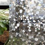 CottonColors Film Adhesif Decoratif pour Fenêtre 3D Statique Autocollant pour fenêtre Film pour Vitrage Film Occultant pour Accueil Cuisine Bureau Salle de bains 60CM x 200CM(2Ft X 6.5Ft) de la marque image 1 produit