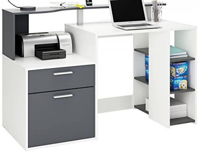 Bureau ordinateur blanc laqué votre comparatif pour