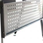EBS Table de Bureau Meuble pour Ordinateur avec Support Clavier Coulissant & Tablette Imprimante (Noir) de la marque image 4 produit