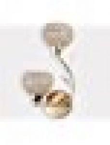 ELINKUME Applique Murale Design Double Aphyse Pour Chambre/Escalier/Sallon/Bureau (Doré) de la marque ELINKUME image 0 produit