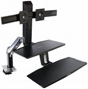 Ergotron WorkFit-A 24-392-026 Support pour TV/Ordinateur Portable/Tablette/Ecran PC Argent de la marque Ergotron image 0 produit