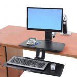 Ergotron WorkFit-A Support pour TV/Ordinateur Portable/Tablette/Ecran PC Noir de la marque Ergotron image 3 produit