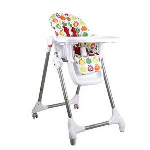 Fascol Chaise Haute Enfant Pliable Rehausseur de Repas Hauteur réglable de la marque image 0 produit