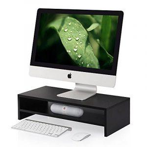 Fitueyes Support pour Réhausseur Ordinateur pour Ecran PC Ordinateur Portable Moniteur Stand en Bois Noir DT205401WB de la marque image 0 produit