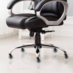 GHB 5pcs Roulettes Chaise Bureau Roulement Silencieux et Résistantes à l'Abrasion de la marque image 5 produit