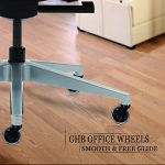GHB 5pcs Roulettes Chaise Bureau Roulement Silencieux et Résistantes à l'Abrasion de la marque image 6 produit