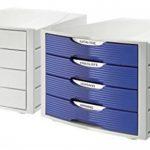 HAN 1001-K-11, module de classement MONITOR de qualité premium et d'esthétique moderne équipé de 4 tiroirs fermés, gris clair de la marque image 1 produit