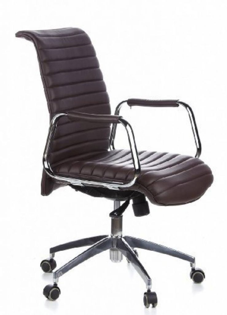 fauteuil bureau cuir marron pour 2018 votre top 6. Black Bedroom Furniture Sets. Home Design Ideas