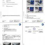 Holifine Hamac de Jardin avec Support en Acier 200 × 150 cm Guitare Design Élégant Hamac en Toile pour Voyage Charge Max 200KG - Vert de la marque image 3 produit