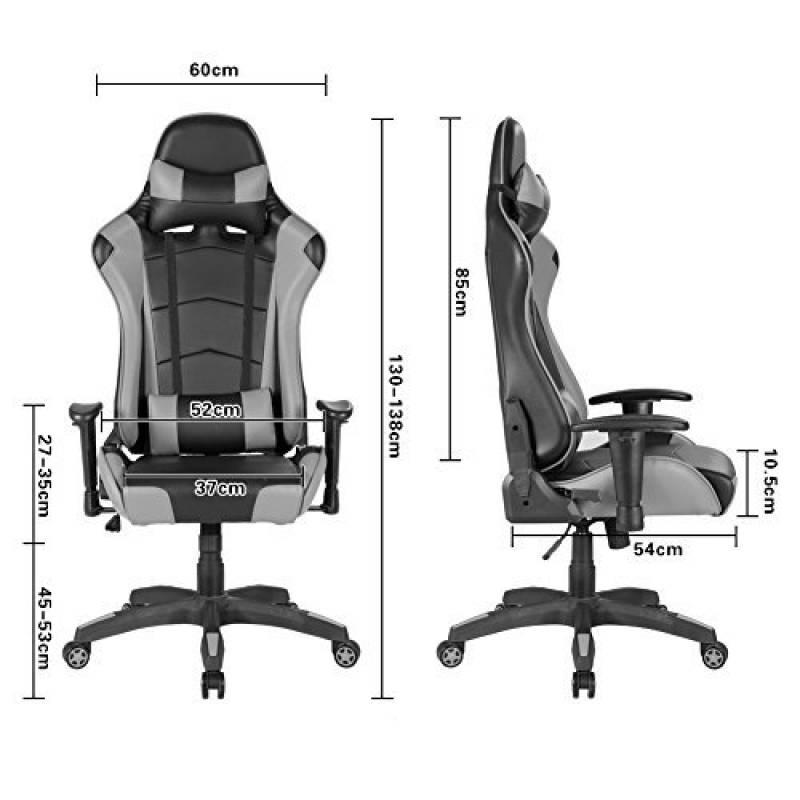 Si ge r glable en hauteur votre top 9 pour 2018 meubles de bureau - Chaise de bureau reglable en hauteur sans roulette ...