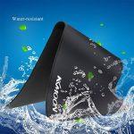 KKmoon Super Grande Taille Tapis de Souris 900*400*3mm Anti-glissant et Hydrorésistant de la marque KKmoon image 6 produit