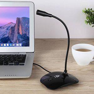 KLIM Talk - Microphone USB à pied pour PC et Mac - Compatible avec tout ordinateur - Microphone de Bureau Professionnel - Haute Qualité Audio de la marque Klim image 0 produit