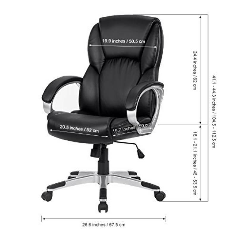 notre comparatif de fauteuil bureau cuir pour 2018. Black Bedroom Furniture Sets. Home Design Ideas