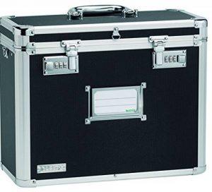 Leitz - 67160095 - Malle de Rangement pour Dossiers Suspendus - Chrome/Noir de la marque image 0 produit