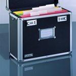 Leitz - 67160095 - Malle de Rangement pour Dossiers Suspendus - Chrome/Noir de la marque image 1 produit