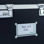 Leitz - 67160095 - Malle de Rangement pour Dossiers Suspendus - Chrome/Noir de la marque image 2 produit