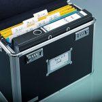 Leitz - 67160095 - Malle de Rangement pour Dossiers Suspendus - Chrome/Noir de la marque image 3 produit