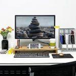 Lifewit Support d'Ordinateur Portable en Bambou Rehaussur de la marque image 1 produit