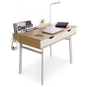 Lifewit Table informatique Bureau de travail Taille grande pour maison et bureau (Style simple) de la marque image 0 produit