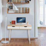 Lifewit Table informatique Bureau de travail Taille grande pour maison et bureau (Style simple) de la marque image 1 produit