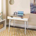 Lifewit Table informatique Bureau de travail Taille grande pour maison et bureau (Style simple) de la marque image 2 produit