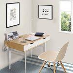 Lifewit Table informatique Bureau de travail Taille grande pour maison et bureau (Style simple) de la marque image 5 produit