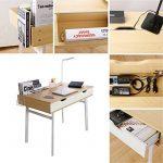 Lifewit Table informatique Bureau de travail Taille grande pour maison et bureau (Style simple) de la marque image 6 produit