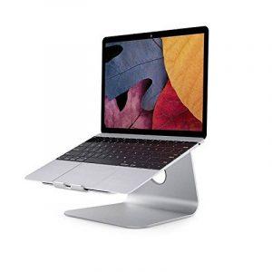 Luinua® Haute qualité en alliage d'aluminium support ordinateur portable, Macbook Air et Macbook Pro (Argent) de la marque image 0 produit