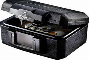 Mallette de sécurité ignifuge, anti feu de petite taille à serrure à clé de la marque image 0 produit