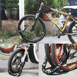 mycarbon Antivol pour vélo avec zahlencode Antivol pour vélo de 5chiffres sûr Cadenas à cadenas chaîne Longueur Totale 90cm pour vélo moto de la marque MYCARBON image 1 produit