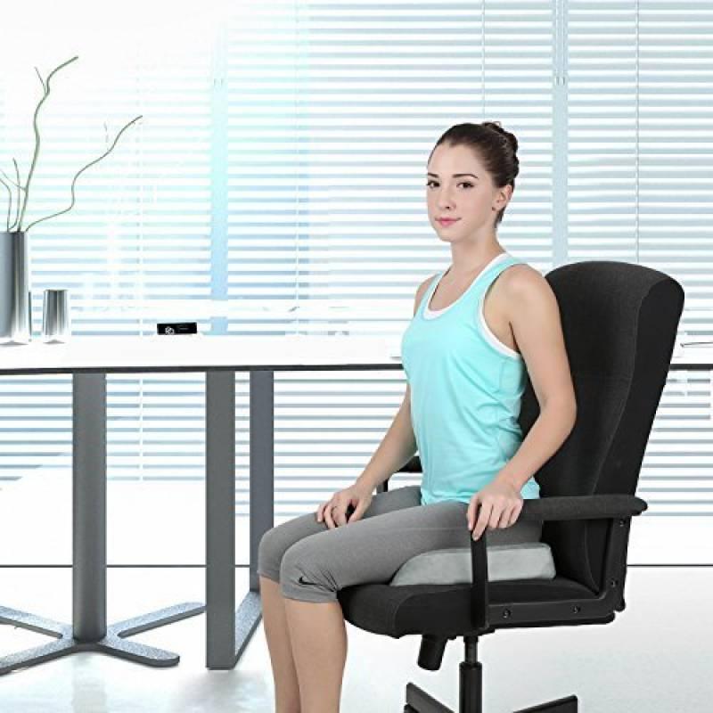 De Forme Coussin Chaise Pour Supporter Le Bas Du Dos Favoriser Une Posture DAssise Saine Corriger LAlignement Lombaire Soulager La Sciatique Et